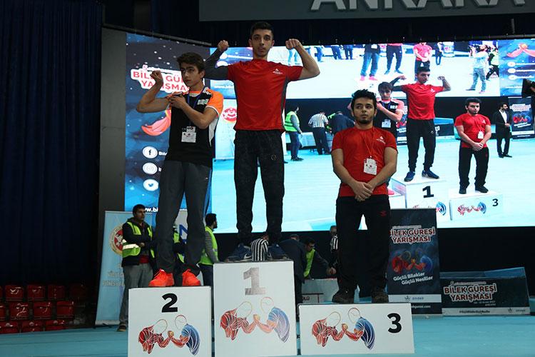 5. Türkiye Genç Erkekler Bilek Güreşi Yarışması, Ankara Atatürk Kapalı Spor Salonu