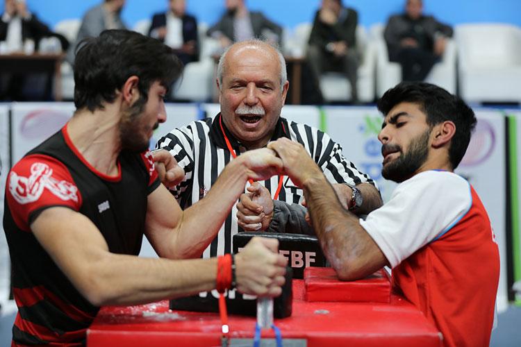 5. Türkiye Genç Erkekler Bilek Güreşi Yarışması