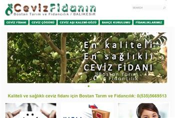 Cevizfidanin-priletisim-websitesi | Web Sitesi Tasarımı