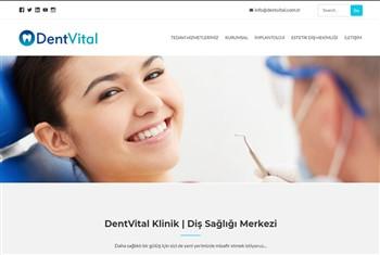 Dentvital-priletisim-websitesi | Web Sitesi Tasarımı