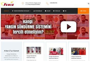 Fenixyangin-priletisim-websitesi | Web Sitesi Tasarımı