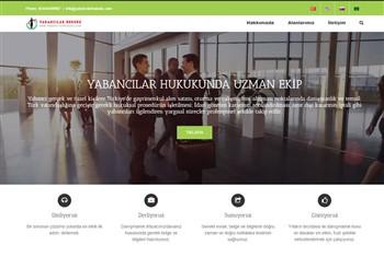 Yabancilarhukuku-priletisim-websitesi | Web Sitesi Tasarımı